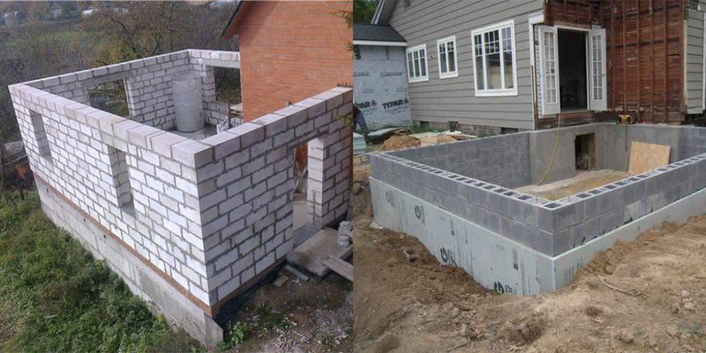 Фундамент для домов из пеноблоков своими руками 26