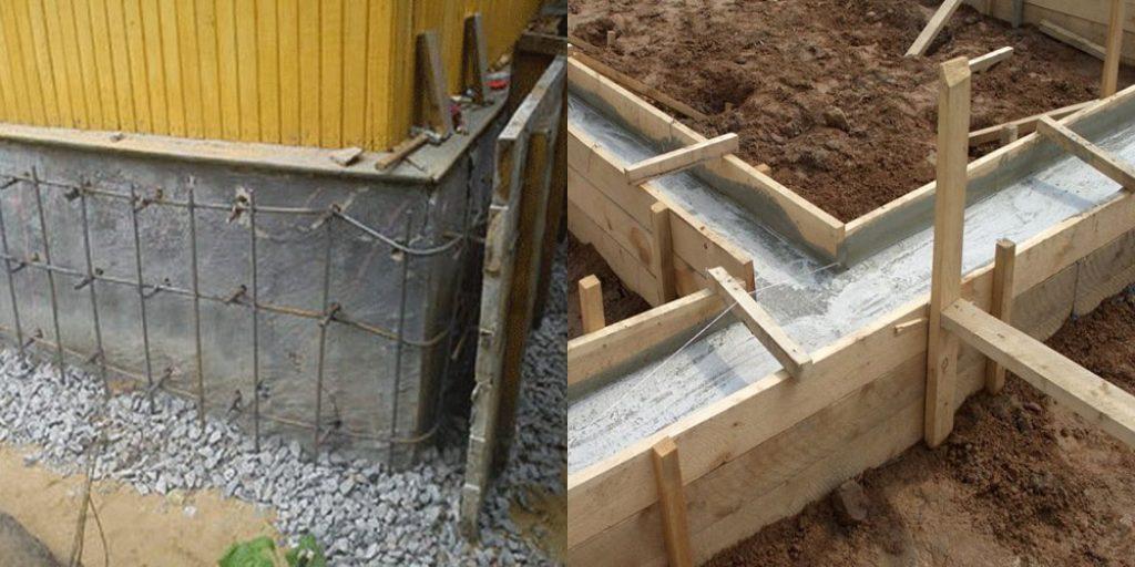 Как сделать фундамент к дачному дому