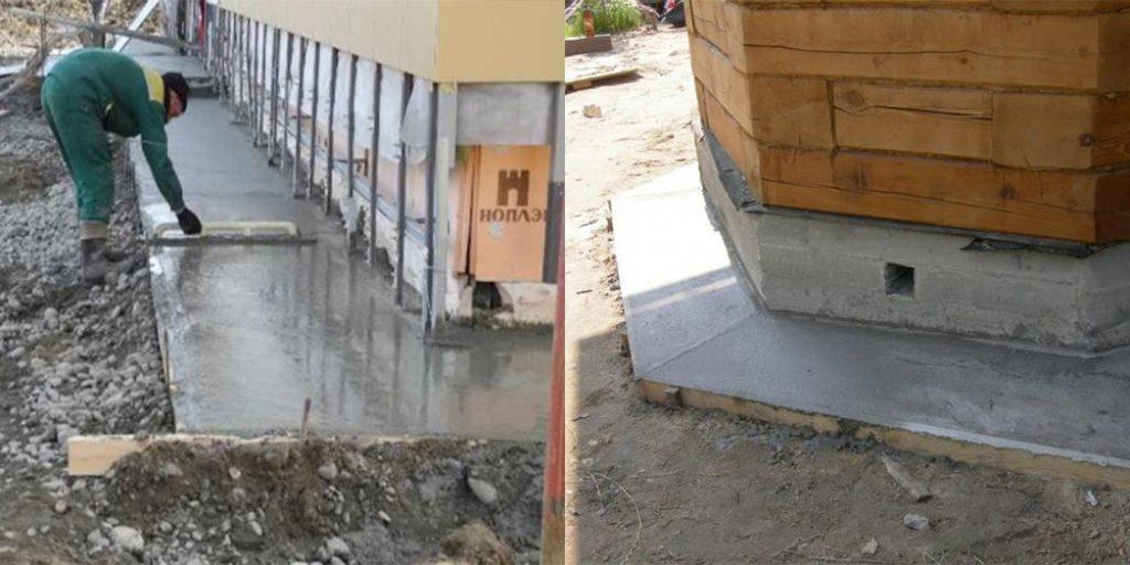 Состав бетона для отмостки: рецепт, пропорции и марка цемента
