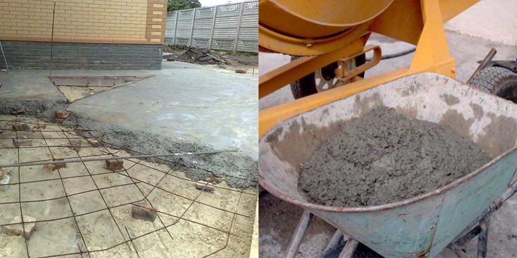 Отмостка своими руками без бетона