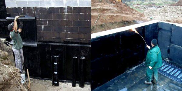 Как сделать гидроизоляцию фундамента 43