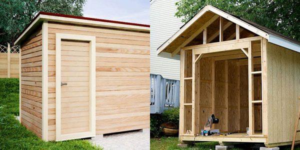 Как построить сарай с фундаментом своими руками