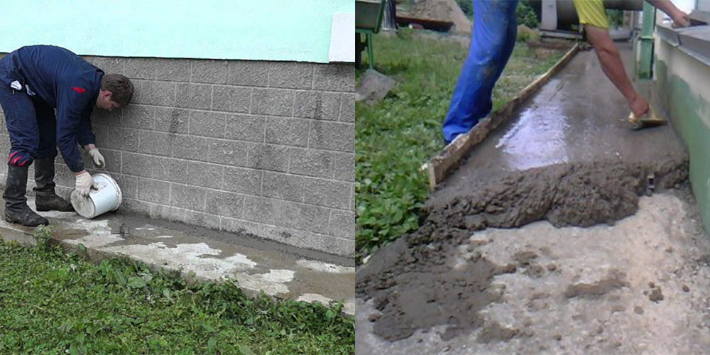 Как сделать бетон своими руками для отмостки 94