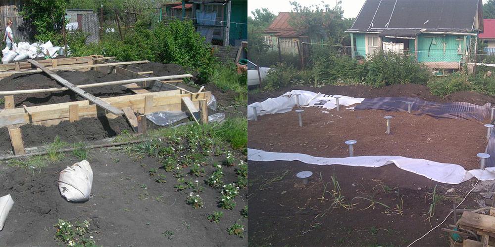 Садовый домик без фундамента своими руками 93
