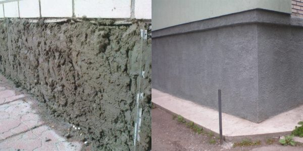 Как штукатурить фундамент дома своими руками 189