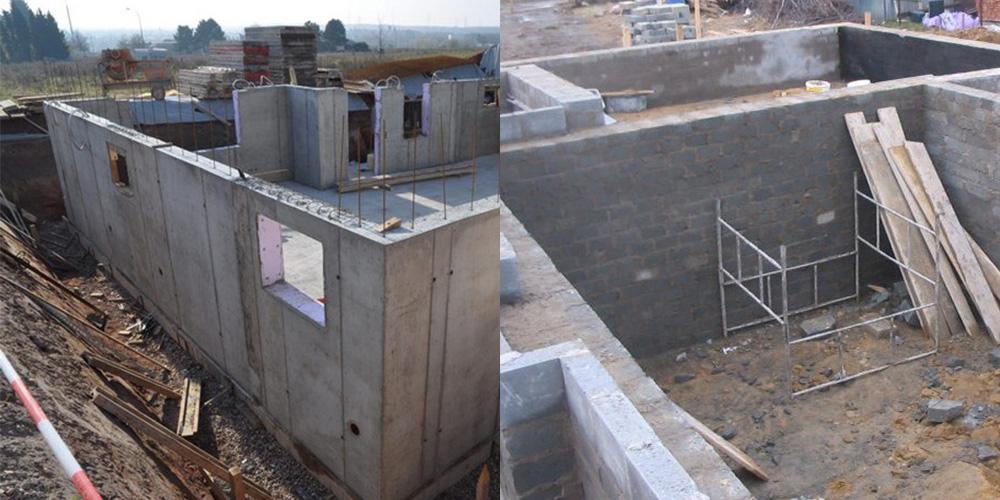 Строим цокольный этаж своими руками 88