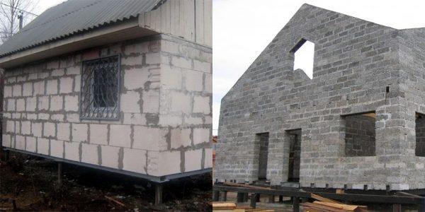 Фундамент для дома на винтовых сваях