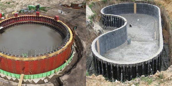 Конструкция круговой опалубки