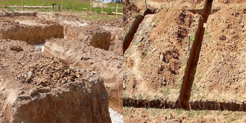 на какую глубину нужно копать фундамент