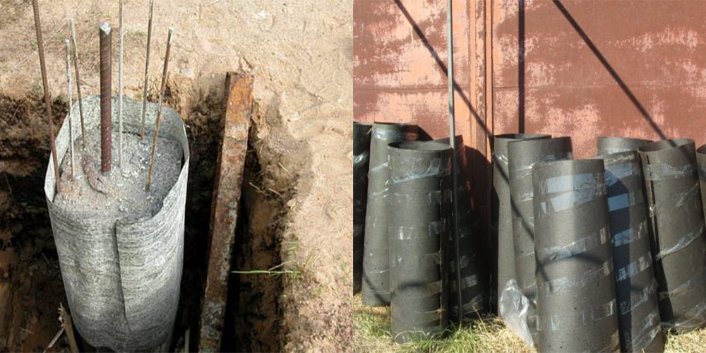 опалубка для бетонных столбов