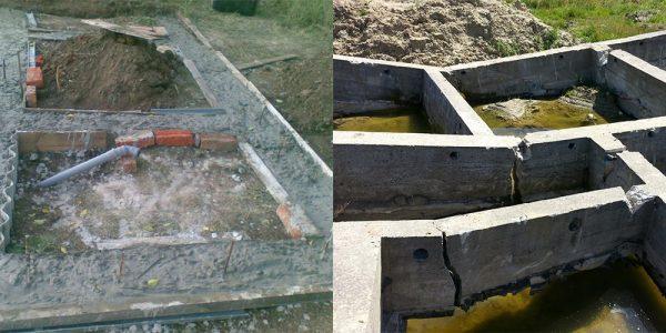 Фундамент без арматуры