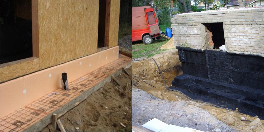 Гидроизоляция подвала здания и его отмостка нормативные документы гидроизоляция flechendicht