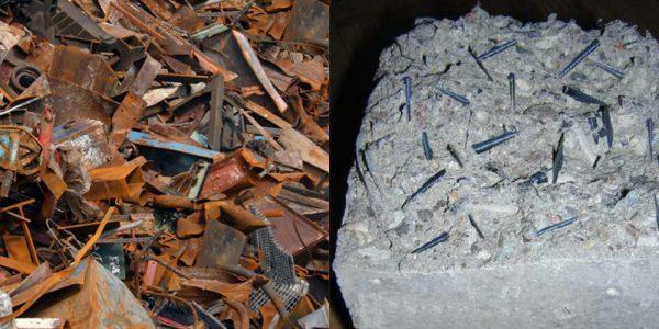 Металлолом в фундаменте