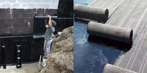 Рулонная гидроизоляция фундамента