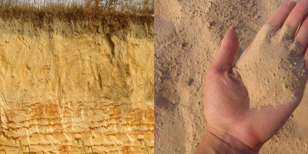 Особенности песчаного грунта