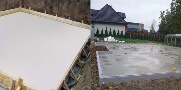 Выравниваем плитный фундамент