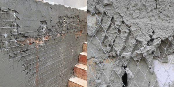 Оштукатуриваем боковые стенки