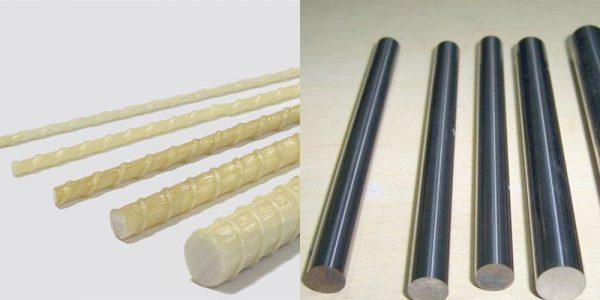 Гладкая и пластиковая арматура