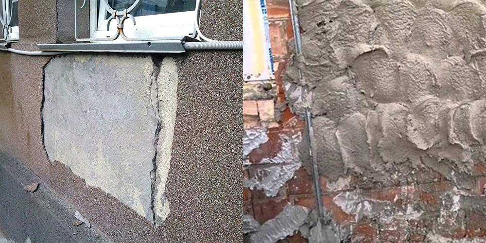Как штукатурить фундамент цементным раствором раствор цементный марка 150 состав