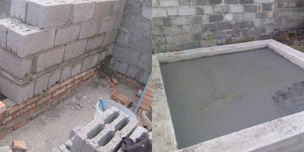 Разновидности фундаментов для бани