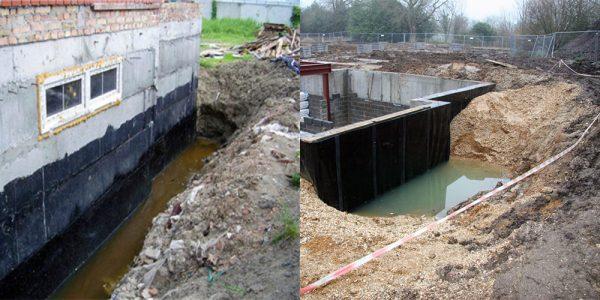 Строительство фундамента при высоком уровне грунтовых вод