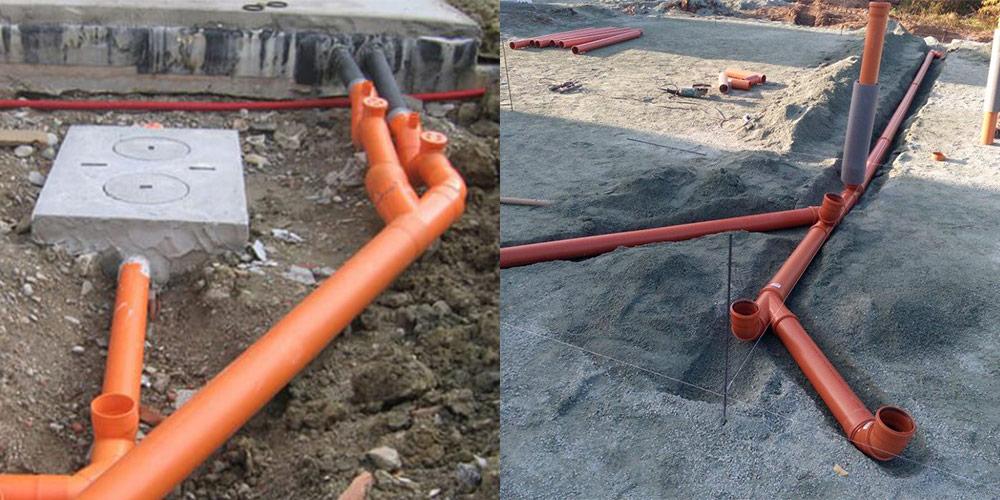 Заливка канализации бетоном купить бетон в джубга