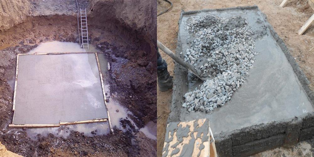 тощем бетоне
