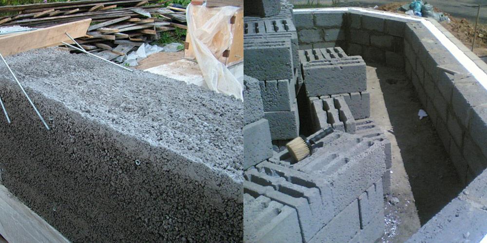 Фундамент из керамзитобетона монолитного керамзитобетон расчет стены