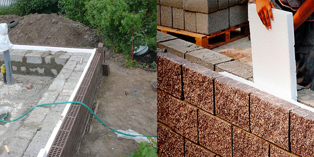 Фундаменты для стен из керамзитобетона смеси растворные и растворы строительные технические условия