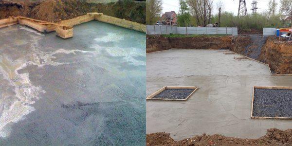 Характеристики бетонной подложки