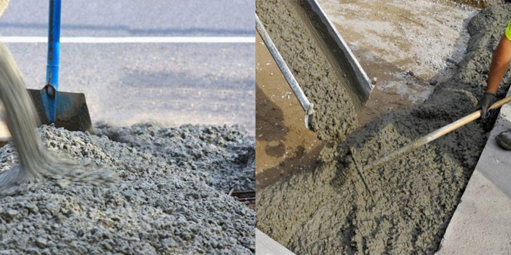 Подушка из тощего бетона вылили бетон