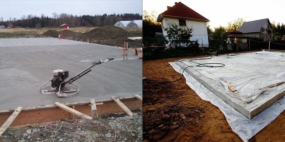После заливки бетона состоит керамзитобетон