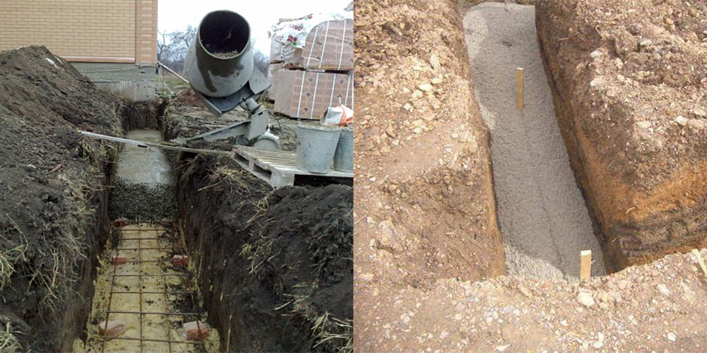 заливка бетона нормативы