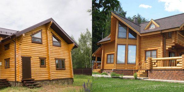 Деревянные дома на фундаменте