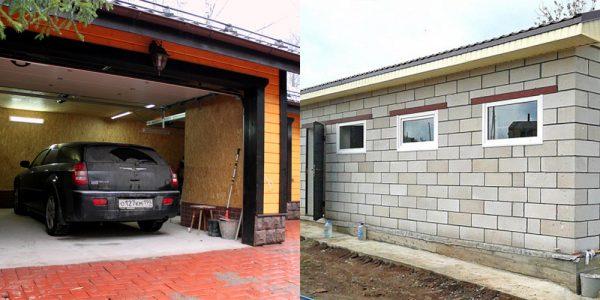 Особенности конструкции гаража