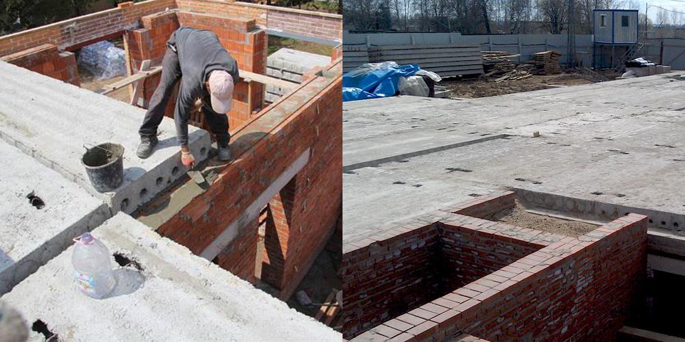 Укладка плит перекрытия бетонных жби красноярск