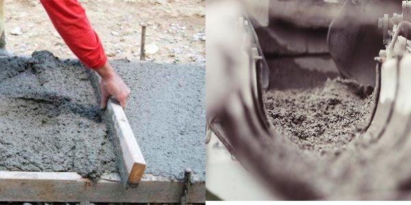 Опеределяем нужное количество бетона
