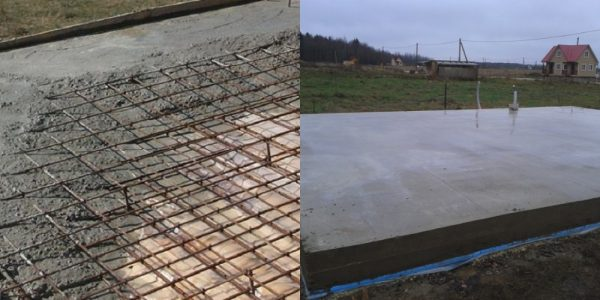 Уход за бетоном во время застывания