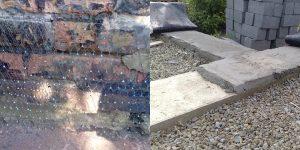 Выравниваем фундамент: верхняя часть и боковые грани