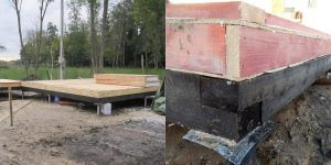 Фундамент под дом из сип панелей