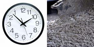 Время застывания бетона в опалубке