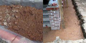 Как сделать глиняный замок для фундамента