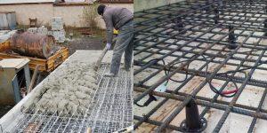 Армируем и заливаем монолитную плиту перекрытия